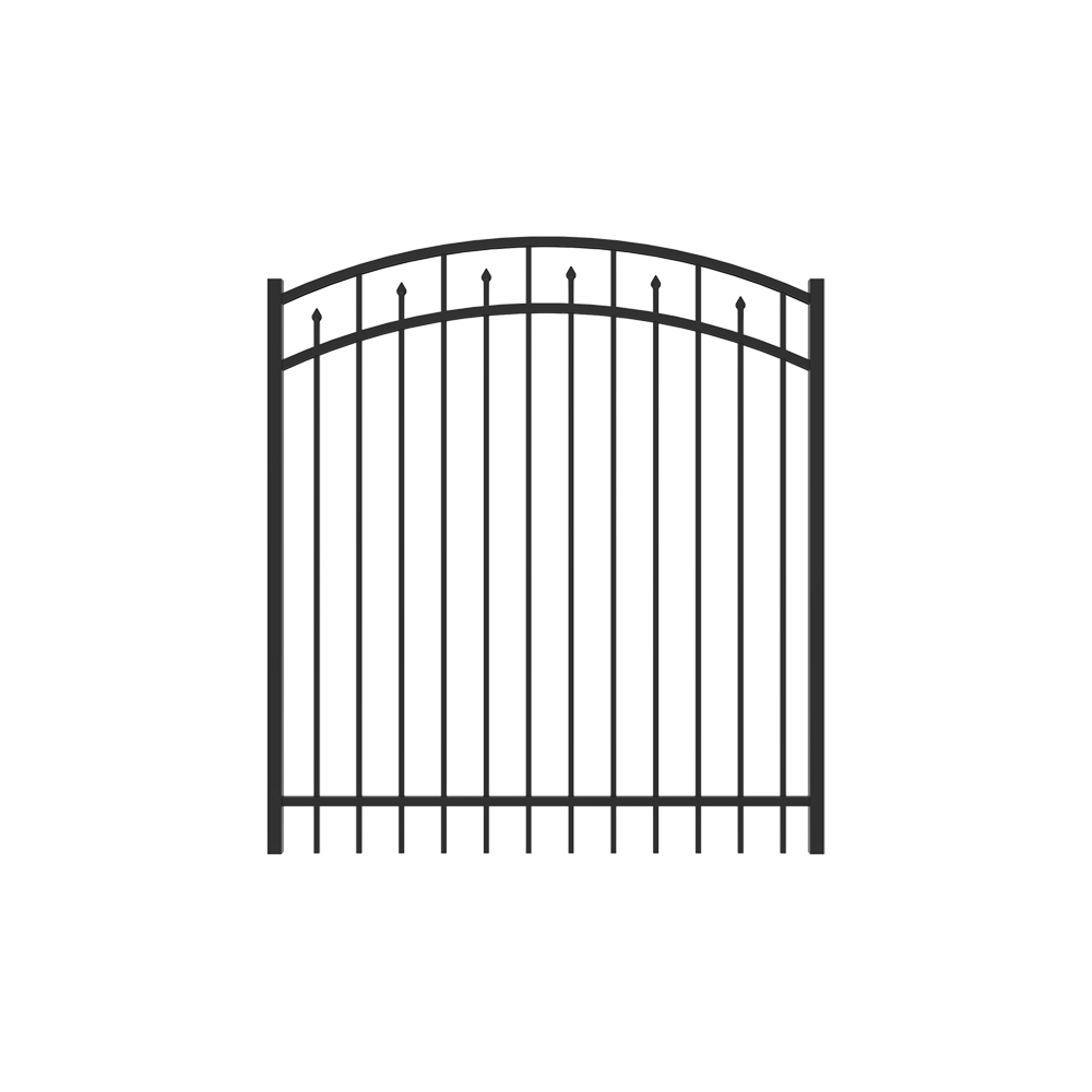 5' x 5' Amethyst Arched Gate
