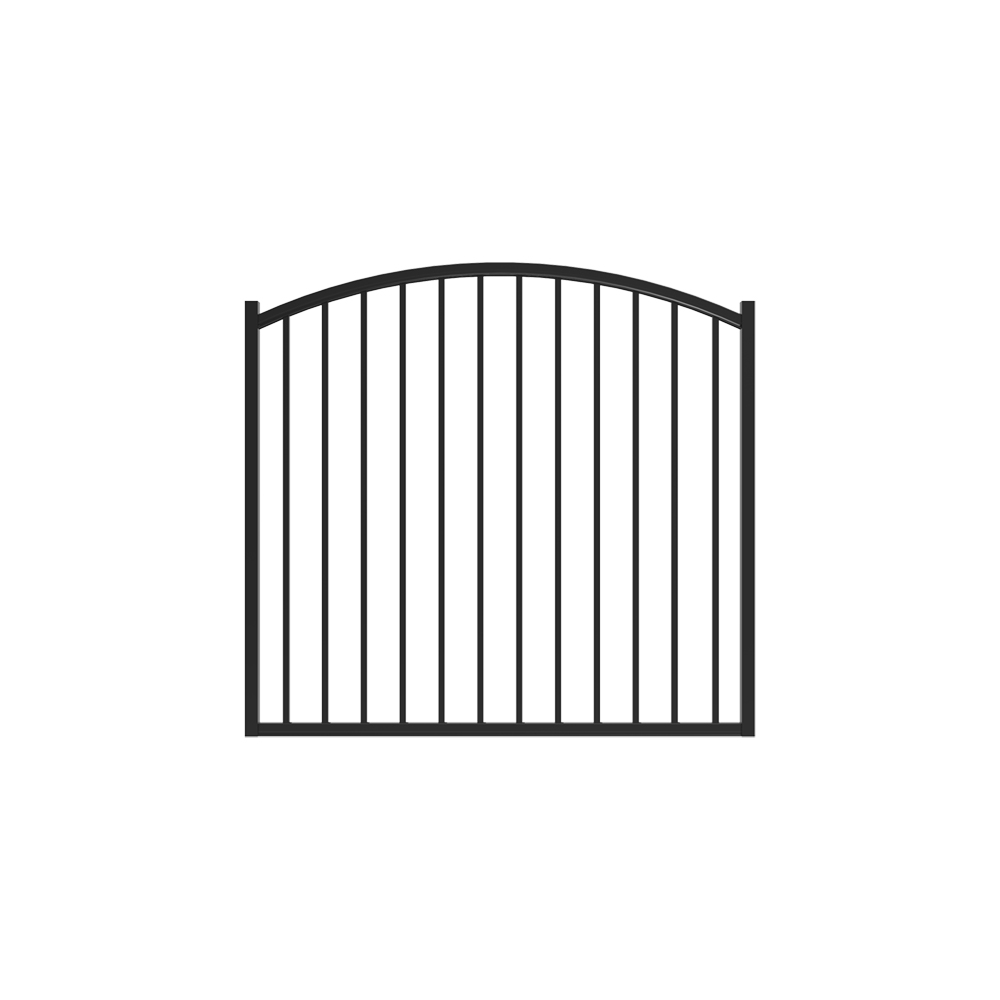 4' x 5' Bedrock Arched Gate