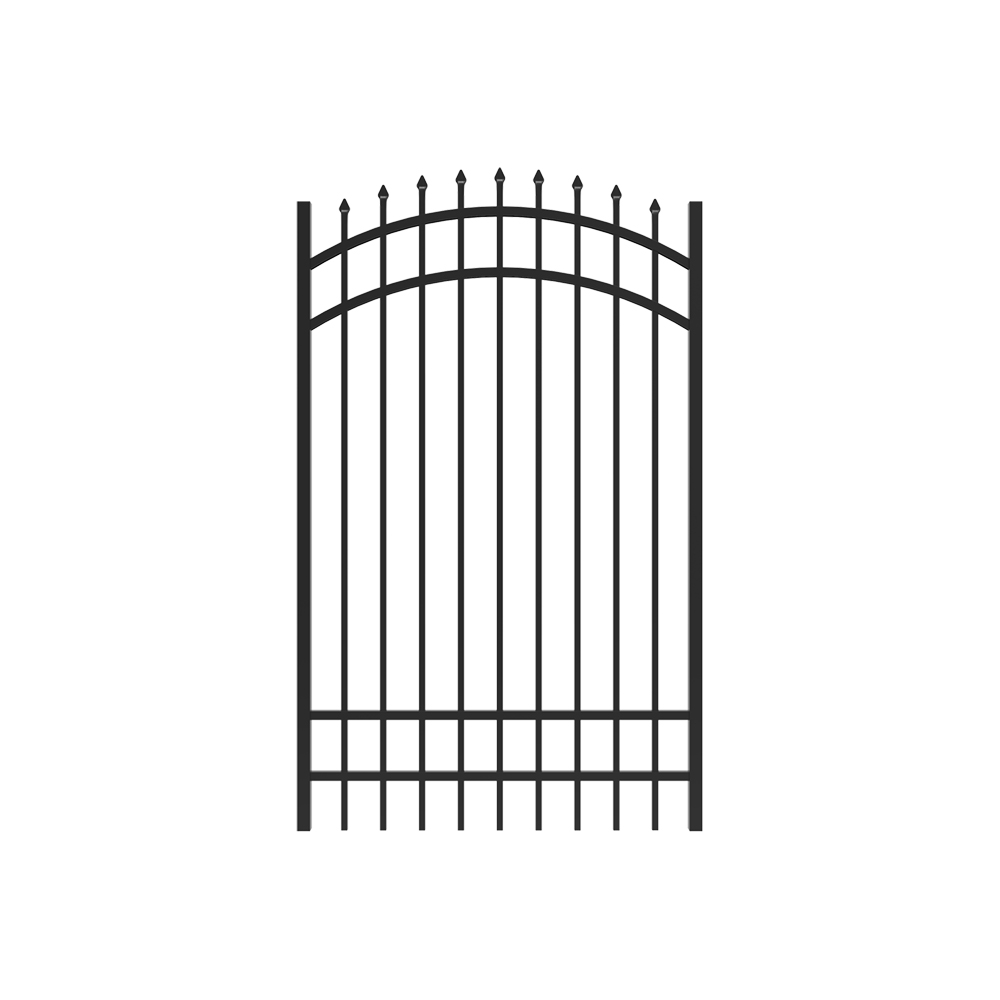 6' x 4' Marble Arched Gate