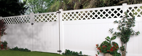 White Vinyl Decorative FenceWhite Vinyl Decorative FenceWhite Vinyl Decorative Fence